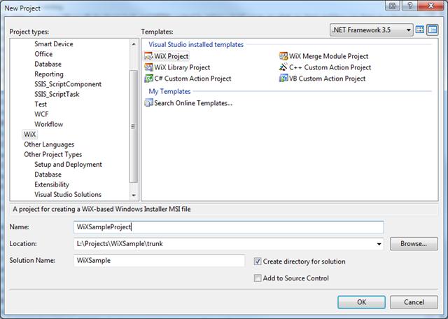 Creating website installer using WiX · Luke Smith